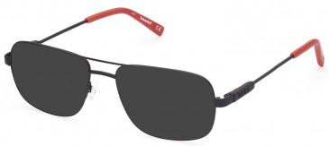 TIMBERLAND TB1676 sunglasses in Matte Black