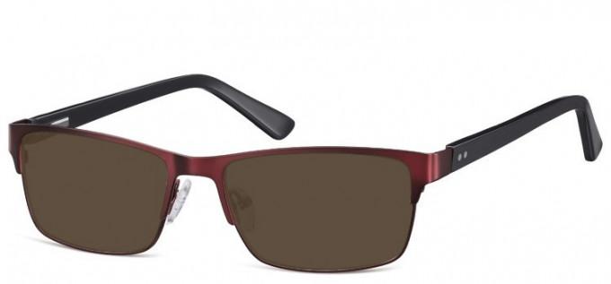 Sunglasses in Burgundy