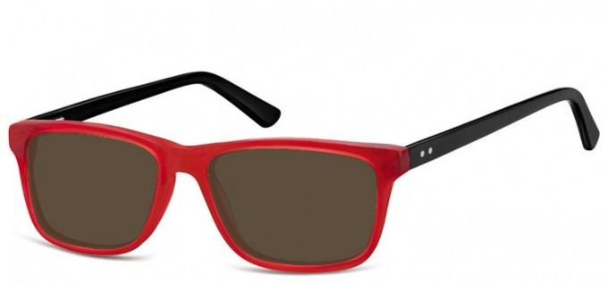 Sunglasses in Burgundy/Black
