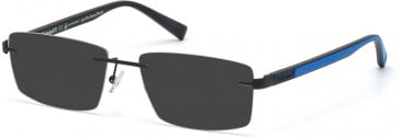 TIMBERLAND TB1657 sunglasses in Matte Black