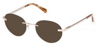 GANT GA3214 sunglasses in Pale Gold