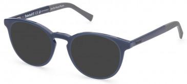 TIMBERLAND TB1674 sunglasses in Matte Blue
