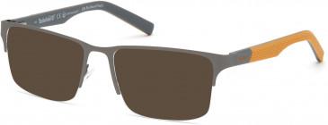 TIMBERLAND TB1664 sunglasses in Matte Dark Nickeltin