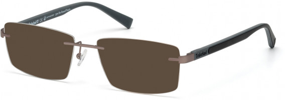 TIMBERLAND TB1657 sunglasses in Matte Gunmetal