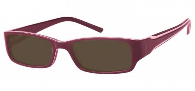 Sunglasses in Purple/Ivory