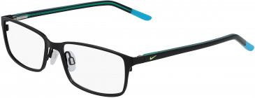 Nike NIKE 5580-52 glasses in Satin Black/Teal Nebula