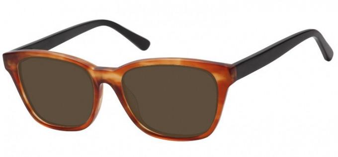 Sunglasses in Brown/Black