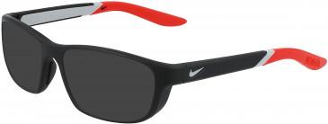 Nike NIKE 5044 sunglasses in Matte Black/University Red
