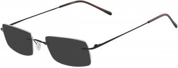 Airlock AIRLOCK SEVEN-SIXTY CHASSIS-52 sunglasses in Espresso