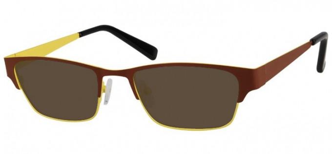 Sunglasses in Brown/Yellow