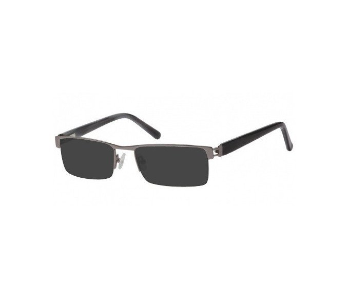 Sunglasses in Light Gunmetal