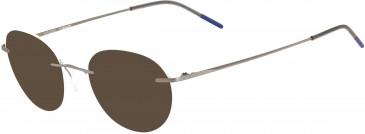 Airlock AIRLOCK WISDOM CHASSIS-49 sunglasses in Satin Silver