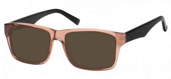 Sunglasses in Light Brown