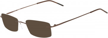 Airlock AIRLOCK WISDOM CHASSIS-51 sunglasses in Satin Brown