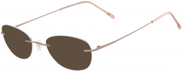 Airlock AIRLOCK SEVEN-SIXTY CHASSIS-51 sunglasses in Rose