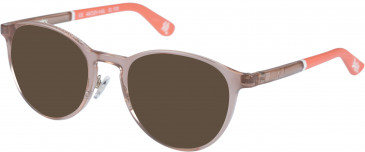 Superdry SDO-ALBY sunglasses in Pink Crystal