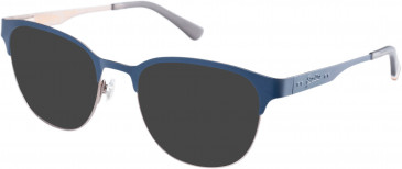 Superdry SDO-KANOJO Sunglasses in Matte Navy/Gunmetal