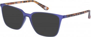 Superdry SDO-LEXIA sunglasses in Matt Purple Tortoise