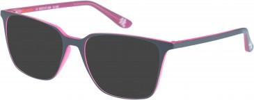 Superdry SDO-LEXIA sunglasses in Matt Grey Pink
