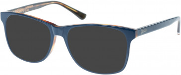 Superdry SDO-PATERSON Sunglasses in Gloss Navy