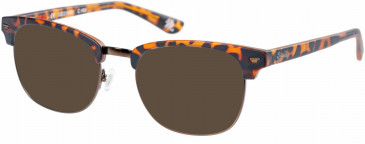 Superdry SDO-SACRAMENTO Sunglasses in Matte Tortoise