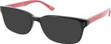 Reebok R6003 Sunglasses in Black/Red