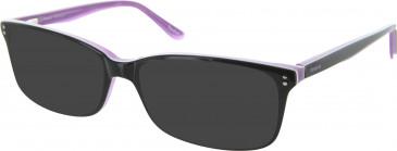 Reebok R6004 Sunglasses in Black/Purple