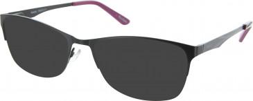 Reebok RB8001 Sunglasses in Black