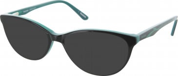 Reebok RB8010 Sunglasses in Black/Teal
