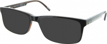 Reebok R6027 Sunglasses in Black/Brown