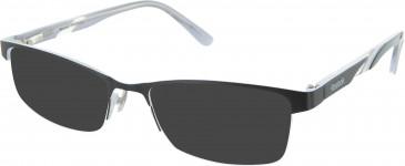 Reebok R4001 Sunglasses in Black/White