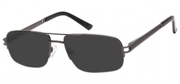 SFE Ready-Made Reading Metal Sunglasses