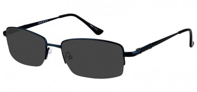 Sunglasses in Matt Blue