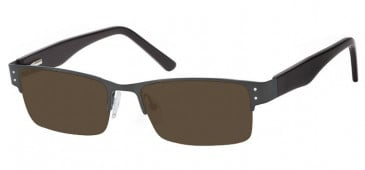 SFE Ready-Made Reading Metal Sunglasses