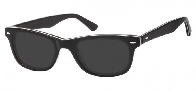 Sunglasses in Black/Grey