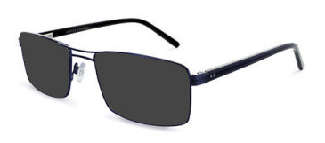Jasper Conran JCM011 Sunglasses in Gun/Blue