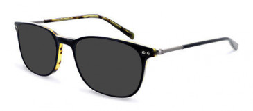 Jasper Conran JCM003-145 Sunglasses in Black/Tort