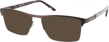 Jasper Conran JCM064 sunglasses in Matt Brown
