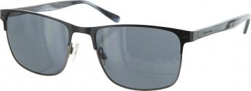 Jasper Conran JCMSUN17 sunglasses in Matt Black