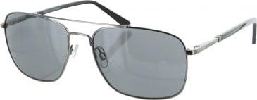 Jasper Conran JCMSUN01 sunglasses in Gunmetal