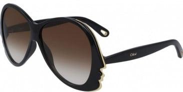 Chloé CE763S sunglasses in Black
