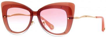Chloé CE175S sunglasses in Peach