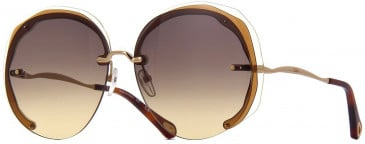 Chloé CE174S sunglasses in Brown Yellow
