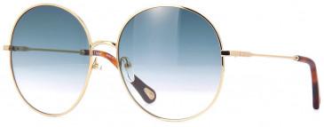 Chloé CE171S sunglasses in Gold/Blue