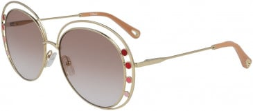 Chloé CE169S sunglasses in Gold Gradient Rose