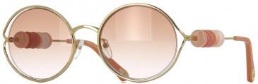Chloé CE167S sunglasses in Gold Rose