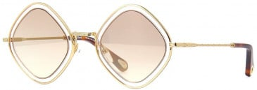 Chloé CE165S sunglasses in Gold Light Pink