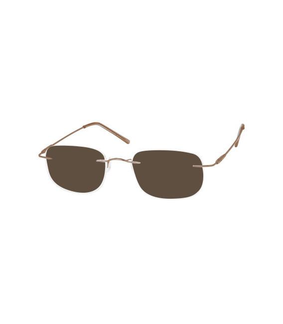 SFE-8353 Sunglasses in Silver