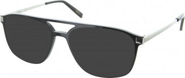 Barbour BI037 sunglasses in Black