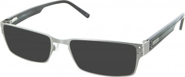Barbour B033 sunglasses in Silver